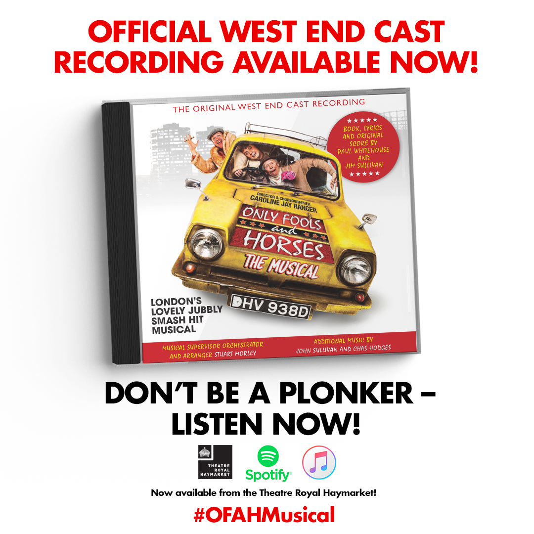 THE OFFICIAL CUSHTY CAST RECORDING! NOW AVAILABLE!