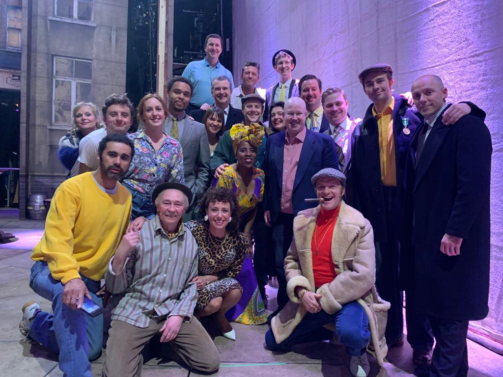 MATT LUCAS PAYS A VISIT TO #OFAHMUSICAL!