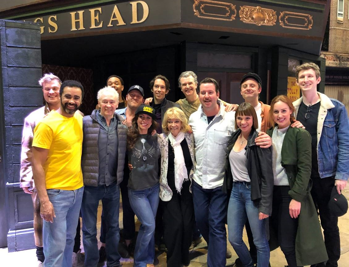 SUE HOLDERNESS COMES ALONG TO #OFAHMUSICAL