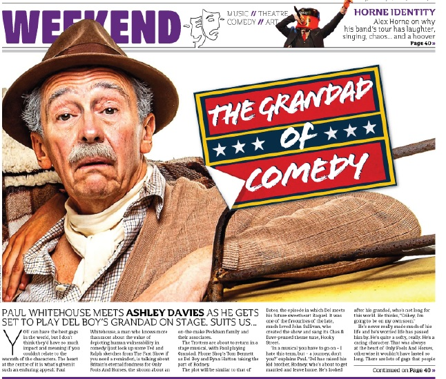 GRANDAD'S IN THE METRO