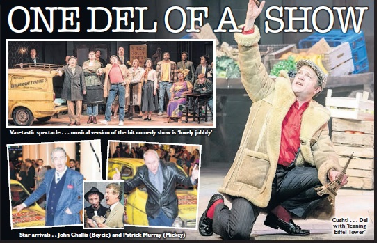 ★★★★★ 'ONE DEL OF A SHOW' THE SUN
